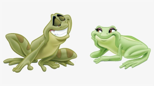 Princess And The Frog Tiana Frog Hd Png Download Transparent