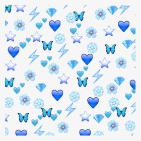 103 1035166 blue emoji edit cold butterfly snowflake flower blue