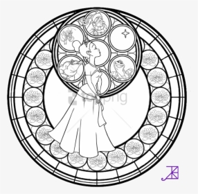 Stained Glass Coloring Pages Adult Coloring Page For ...
