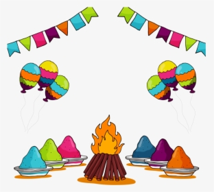 Holi Drawing For Class 3 Hd Png Download Transparent Png Image Pngitem