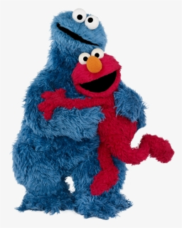 Elmo Clipart X Transparent Png Elmo And Cookie Monster