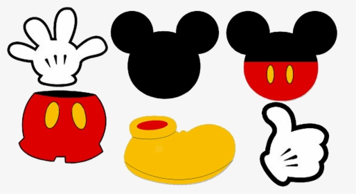 This is a graphic of Mickey Mouse Head Printable Cutouts pertaining to molde