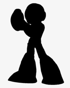 Mega Man Silhouette Super Smash Bros Silhouette Video Game Character Hd Png Download Transparent Png Image Pngitem