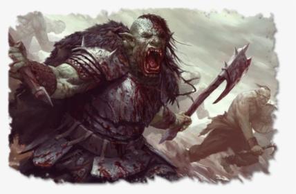 Orc Fantasy Art, HD Png Download , Transparent Png Image - PNGitem
