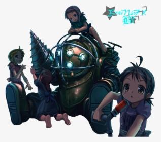 Bioshock 2 Big Daddy And Little Sister Bioshock Big Daddy
