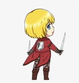 Armin Arlert Attack On Titan Armin Chibi Hd Png Download Transparent Png Image Pngitem