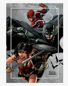 The Justice League Jason Fabok Art 2018 Hd Png Download Transparent Png Image Pngitem