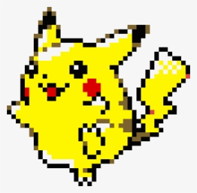 Cute Pikachu Pixel Art Hd Png Download Transparent Png
