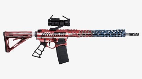 F 1 Firearms Old Glory Ar 15 Demolition Ranch Hd Png Download Transparent Png Image Pngitem