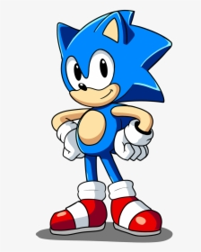 Classic Sonic The Hedgehog Drawing Hd Png Download Transparent Png Image Pngitem