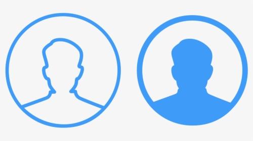 profile icons ux vector logo illustration ui app profile profile icon png blue transparent png transparent png image pngitem profile icons ux vector logo
