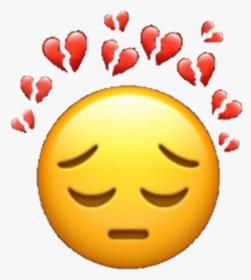 147 1472863 broken down sad hearts emoji sademoji brokenheart sad