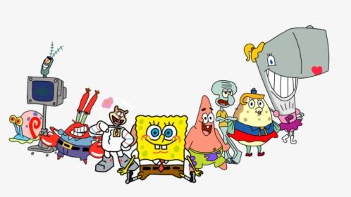 Spongebob Characters Png Images Transparent Spongebob Characters Image Download Pngitem