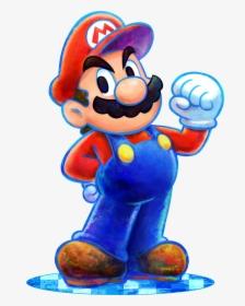 Mario And Luigi Dream Team Artwork Hd Png Download