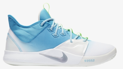 light blue and white basketball shoes