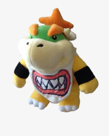 2015 2017 Bowser Jr Plush Transparent Hd Png Download
