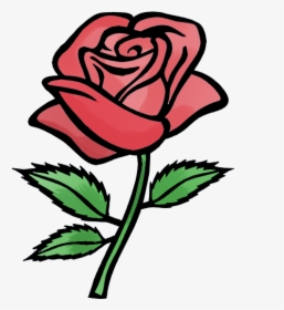 Rose Cartoon Drawing Free Download Clip Art On Png Red Rose