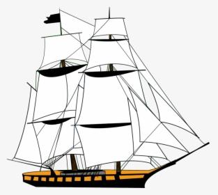 Sailing Ship Clipart Illustration Free Stock Photo - Public Domain Pictures