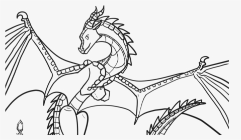 - Wings Of Fire Coloring Pages Wings Of Fire Coloring - Skywing Wings Of Fire  Coloring Pages, HD Png Download , Transparent Png Image - PNGitem