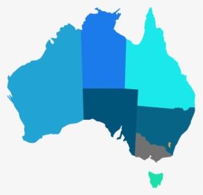 Australia Map In Hd