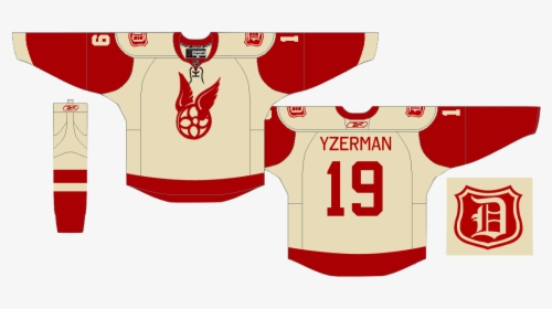 Detroit Red Wings 3rd Jersey, HD Png