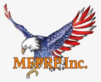 American Flag Eagle Clip Art - Royalty Free - GoGraph