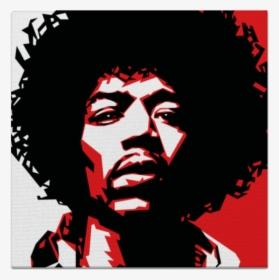Jimi Hendrix Guitarist Graphic Design Stencil Poster Stencil Art Jimi Hendrix Hd Png Download Transparent Png Image Pngitem