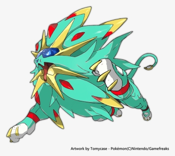 Pokemon Soleil Png Download Shiny Solgaleo And Lunala