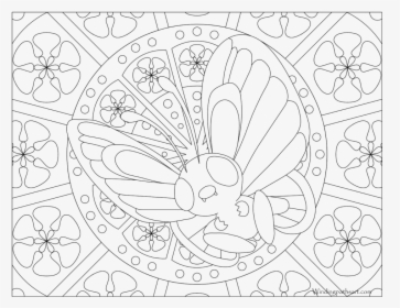 Pokemon Coloring page of Butterfree Pokemon coloring pages | 280x363