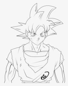 Goku Super Saiyan God Drawing Easy Hd Png Download