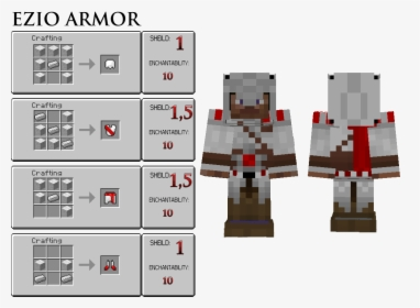 Minecraft Ezio Skin Png Download Assassin S Creed Banner