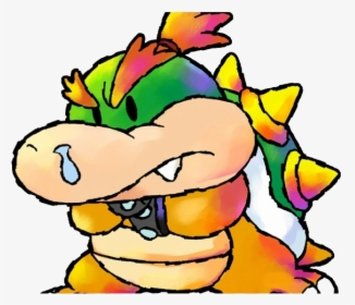 Super Mario Baby Bowser Clipart Png Download Bowser Baby