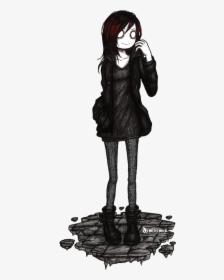 Drawn Emo Cartoon Black And White Graffiti Characters Hd Png