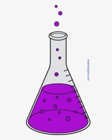 Beaker Science Chemistry Laboratory Clip Art - Flasks - Scientists  Transparent PNG