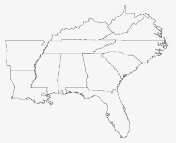 Southern Region Us States Map Regions Explained Fresh ...