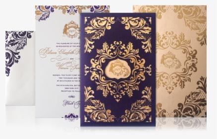 Indian Wedding Card Png Pink Design For Wedding Invitation