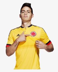 James Rodriguez Colombia Png Camiseta De Colombia James Transparent Png Transparent Png Image Pngitem