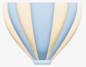 Hot Air Balloon Clipart Baby Blue