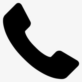 Phone Receiver - Phone Icon Vector Blue, HD Png Download , Transparent Png  Image - PNGitem