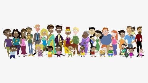 Family Portrait - Cartoon, HD Png Download, Transparent PNG