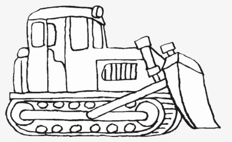 Bulldozer Colouring In Kids - Bulldozer Coloring Pages, HD ...