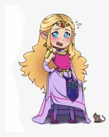 Princess Zelda Ocarina Of Time Fan Art Hd Png Download
