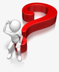 A Thinking Man - Question Moving Animated Clipart - Free Transparent PNG Clipart  Images Download