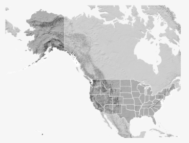 The Us With Alaska And Hawaii In Mercator A Bad Map - Relief ...