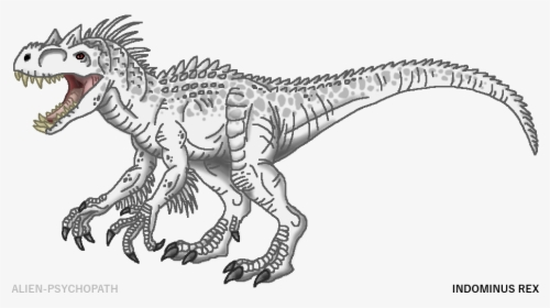 indominus rex coloring pages hd png download transparent png image pngitem indominus rex coloring pages hd png