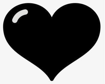 Black Heart Emoji Png Images Transparent Black Heart Emoji Image Download Pngitem
