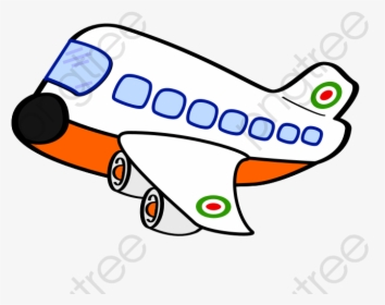 Cartoon Aircraft Png Commercial Cute Airplane Clipart