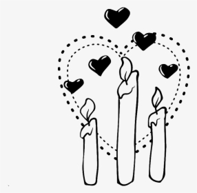 Blanco Y Negro Pintado A Mano Simple Amor Vectores Heart Hd Png Download Transparent Png Image Pngitem