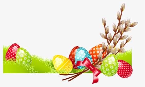 Clipart Easter Family Bordure De Page Paques Hd Png
