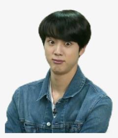 Bts Jin Funny Face Hd Png Download Transparent Png Image Pngitem